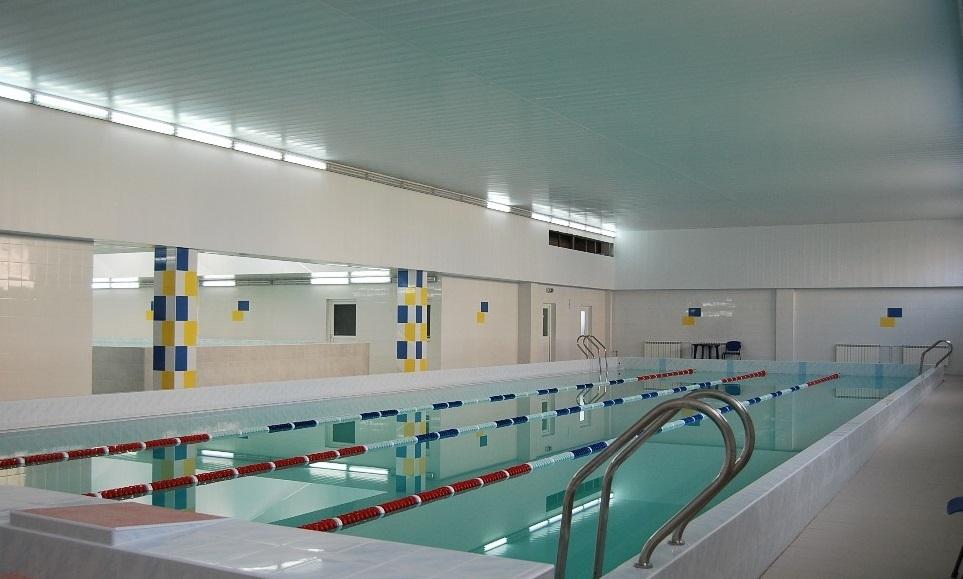 Бортничи: бассейн на профилактике