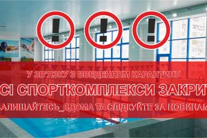 Карантин в Украине: закрытие спорткомплексов