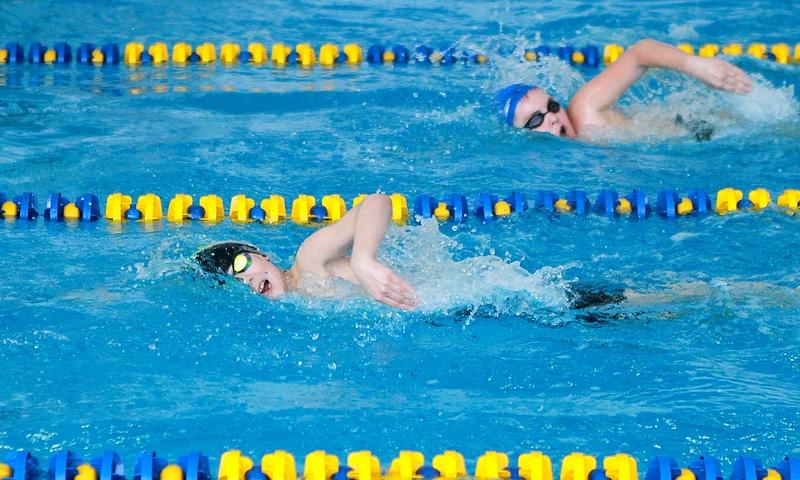 Детские соревнования бассейне в Бортничах