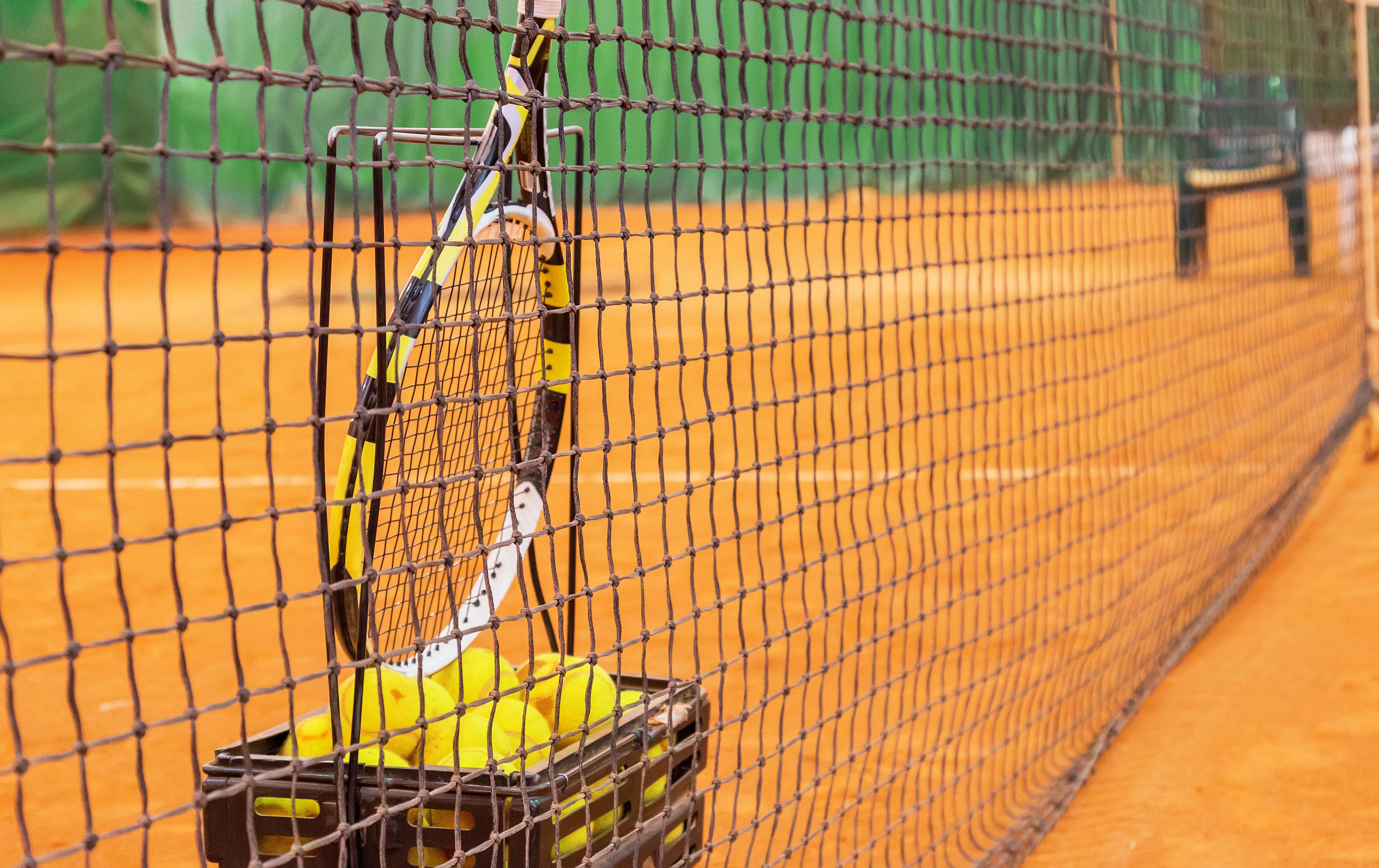 Теннисные корты: переход на зимние цены