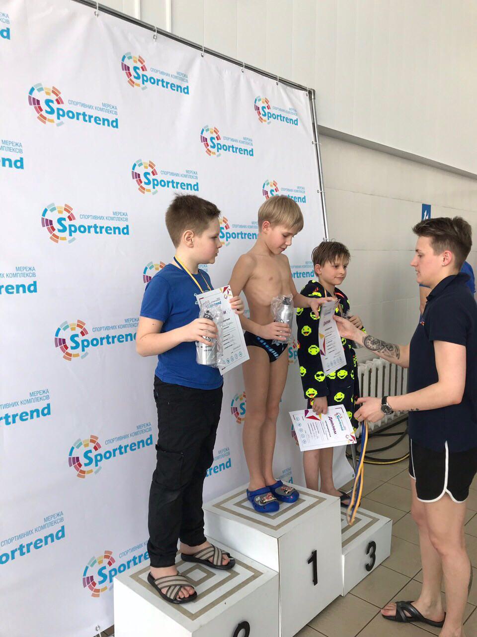 Детские соревнования в Бортничах - результаты
