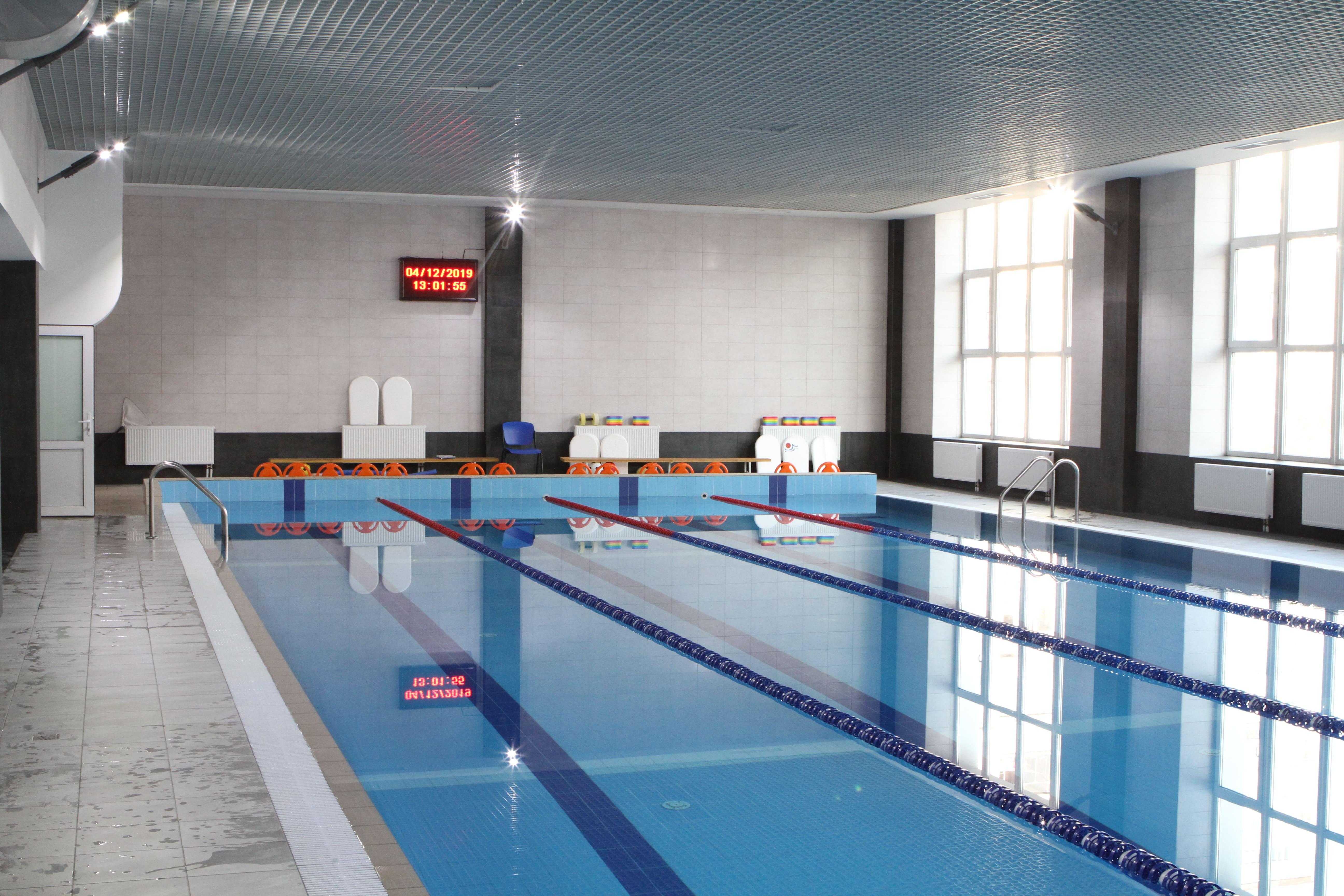 СК Харьковский: техническое обслуживание бассейна